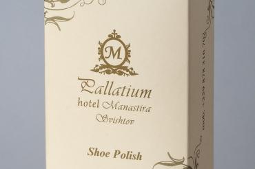 Shoe polish in carton box