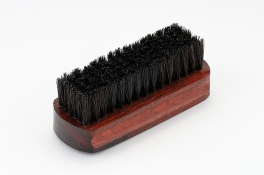 Clothes Brush Dark Wood 11 cm