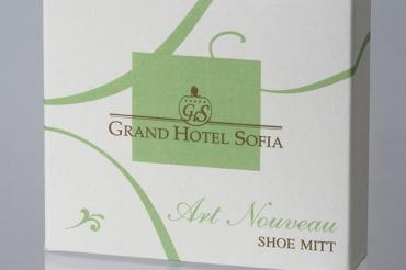 Ръкавица за обувки в картонена кутия