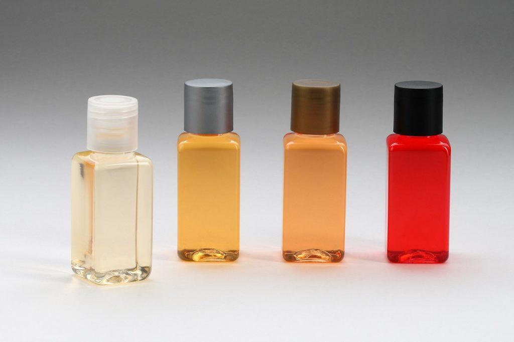 frasco de cosmeticosр acessórios para banheiro
